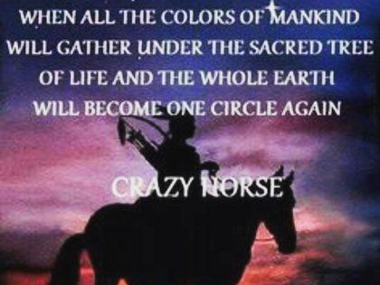One Tribe One Humanity One Spirit Shamanic Heart