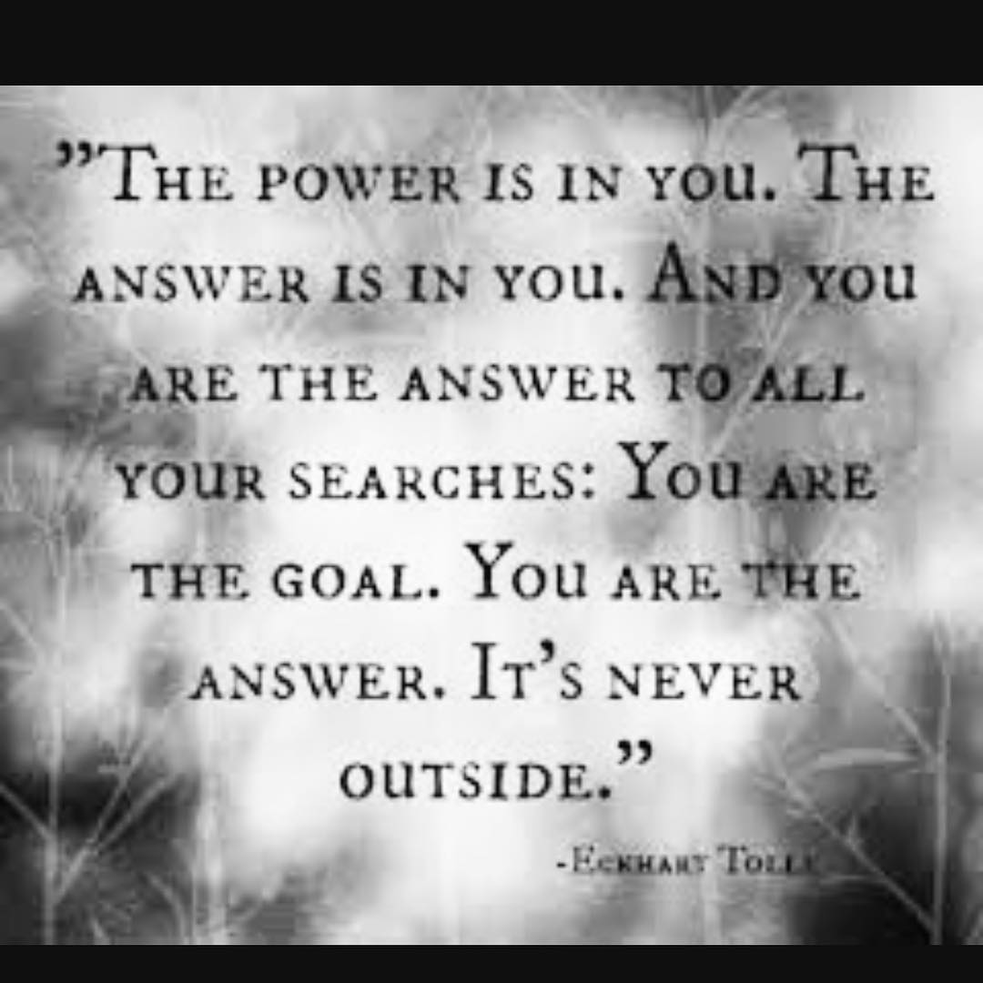 The Power That Is In You