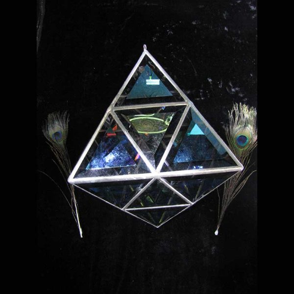 Pyramid Octahedron Sacred Geometry Crystal Template